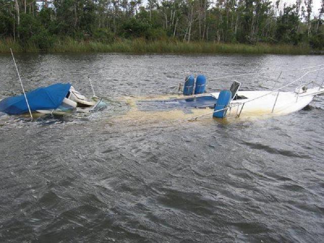 sunk boat-medium-small