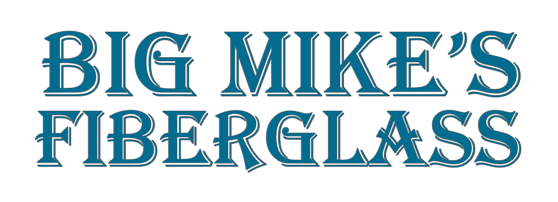 Big Mike's Fiberglass Logo